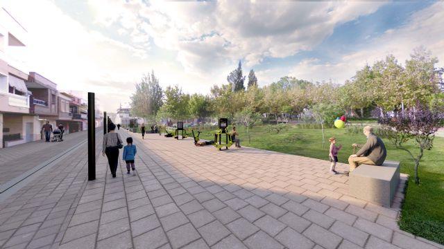 La peatonalización de la calle Bartolomé Ródenas dará más espacio de ocio al parque de la Constitución - 3, Foto 3
