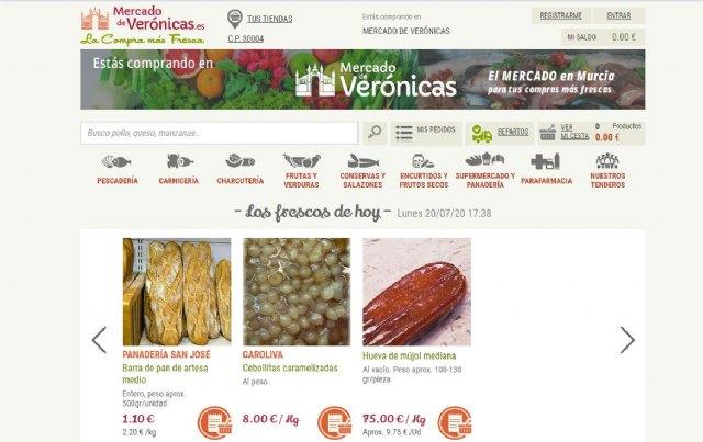 La Venta Online en el Mercado de Verónicas se dispara durante el estado de alarma - 1, Foto 1