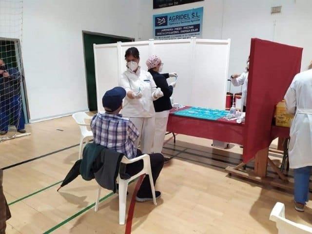 [Plan de vacunación masiva para esta semana en Totana