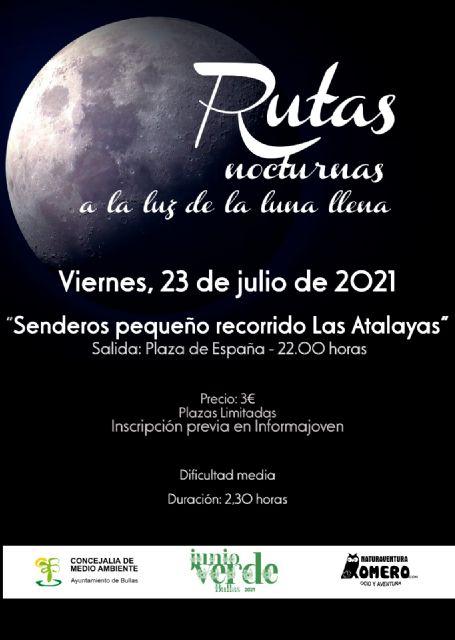Nueva ruta nocturna a la luz de la luna y por el sendero de Las   Atalayas - 1, Foto 1
