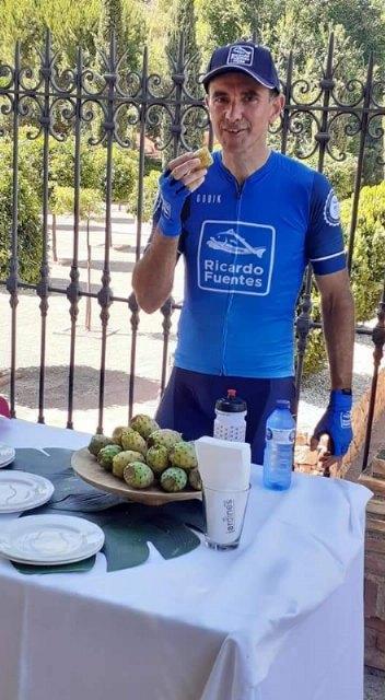 El desafío Región de Murcia Capital Gastronómica hace parada en el Santuario de Santa Eulalia y promociona los higos chumbos de Totana, Foto 2