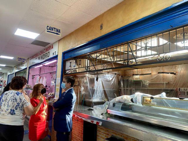 El PP exige a la coalición de izquierdas instalada en La Glorieta la reparación inmediata del techo del mercado de La Alberca - 3, Foto 3