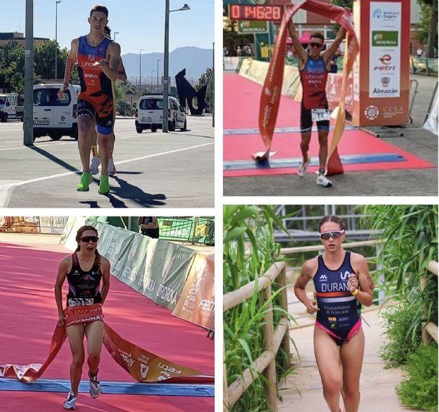 El triatlón murciano recoge buenos resultados en el primer clasificatorio para el Campeonato de España de Triatlón de distancia Olímpica - 1, Foto 1