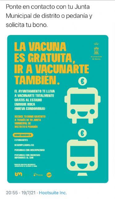 La coalición de izquierdas vuelve a mentir con publicidad engañosa sobre los bonos de transporte gratuitos para vacunarse - 2, Foto 2