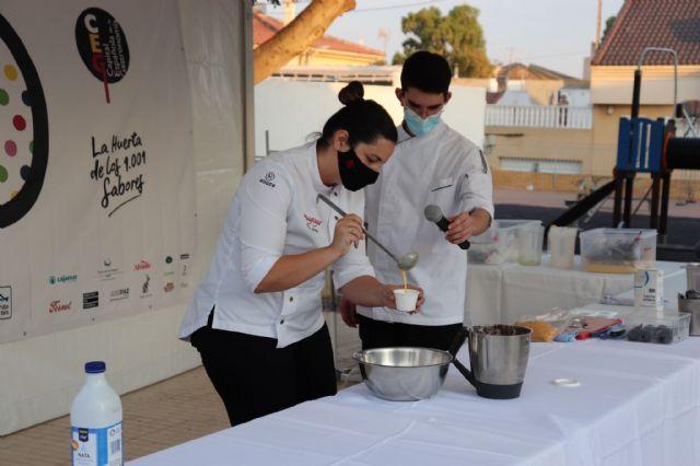 Maria Gómez, del restaurante Magoga, crea un plato en homenaje a los hosteleros de Fuente Álamo - 1, Foto 1