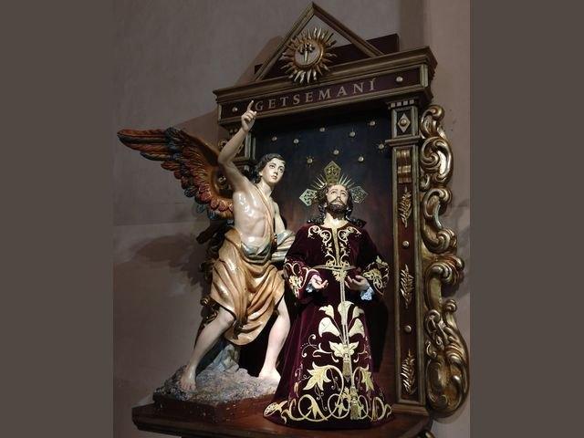 [La Hdad. de la Oración en el Huerto estrena retablo en la Iglesia de Santiago el Mayor de Totana