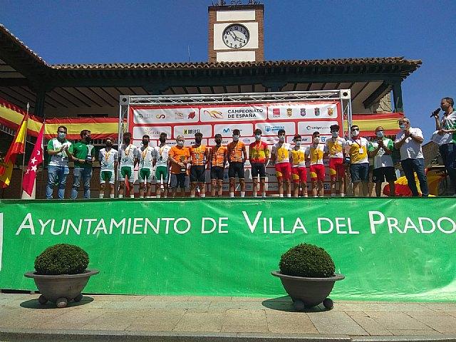 Gran actuación de la selección murciana de ciclismo en los campeonatos de España de Ciclismo Escolar en la localidad madrileña de Villa del Prado, Foto 2