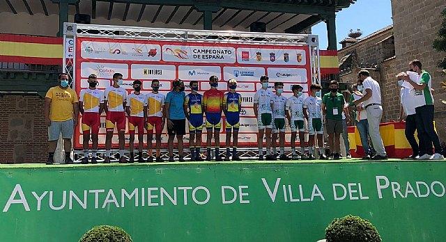 Gran actuación de la selección murciana de ciclismo en los campeonatos de España de Ciclismo Escolar en la localidad madrileña de Villa del Prado, Foto 3