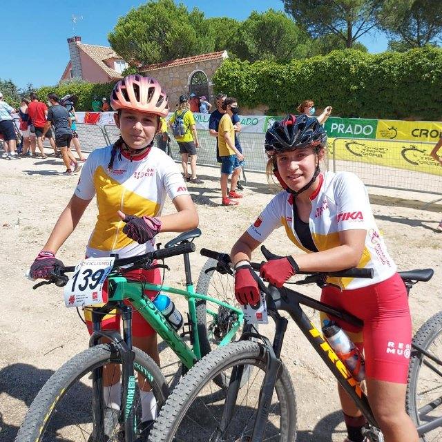 Gran actuación de la selección murciana de ciclismo en los campeonatos de España de Ciclismo Escolar en la localidad madrileña de Villa del Prado, Foto 4
