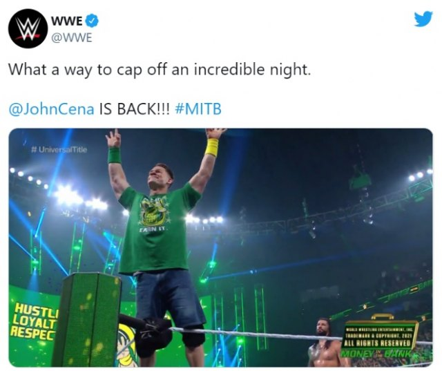 Ya es oficial: ¡John Cena vuelve al ring de la WWE! - 1, Foto 1