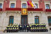 Los policías locales celebran el día de su patrón