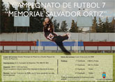 El Campeonato de Fútbol 7 Salvador Ortiz arranca hoy con 19 equipos inscritos