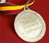 Mazarrón premia en una gala a los once mejores deportistas de 2008