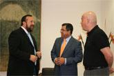 El alcalde de Mazarrón se reúne con el consejero de Presidencia
