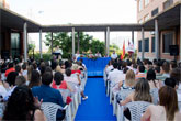 El alcalde clausura el curso 2007/2008 del I.E.S. Domingo Valdivieso