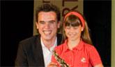 María Ángeles Hernández, joven promesa del deporte mazarronero