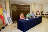 'Oché Cortés' y 'Espido Freire', talismanes de la música y la cultura en Mazarrón