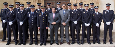 Los policías locales en prácticas refuerzan la seguridad ciudadana del municipio