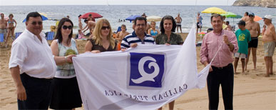 La playa cultural de Mazarrón ofrecerá un servicio de préstamo de libros y ciclos de cine