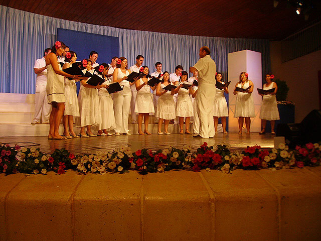 """The Chorus """"Hims Mola"""" Molina de Segura Polyphony and wins the second prize in the National Contest of Habanera XXVIII, being the first and fourth prize deserts - 2"""