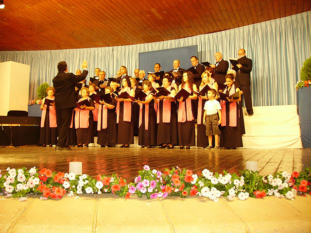 """The Chorus """"Hims Mola"""" Molina de Segura Polyphony and wins the second prize in the National Contest of Habanera XXVIII, being the first and fourth prize deserts - 3"""