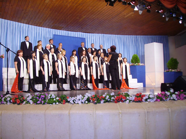 """The Chorus """"Hims Mola"""" Molina de Segura Polyphony and wins the second prize in the National Contest of Habanera XXVIII, being the first and fourth prize deserts - 4"""