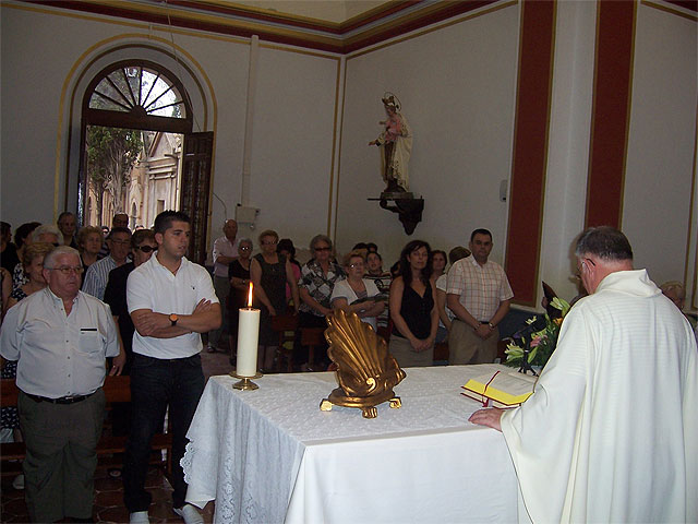 """City officials at the cemetery to attend the traditional Mass in honor of """"Nuestra Señora del Carmen"""" - 1"""