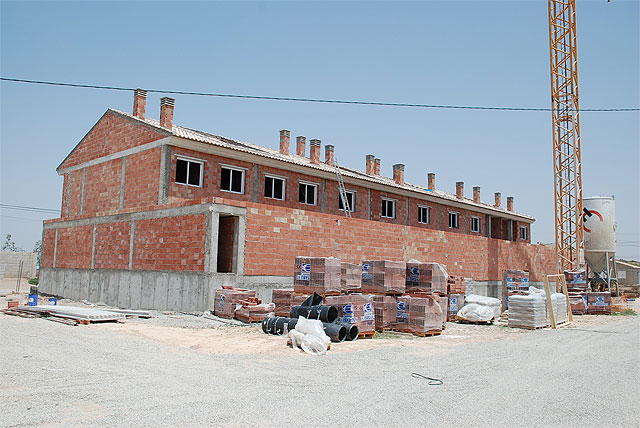 "8 homes Proinvitosa awarded the public promotion duplex being built in the hamlet of El Paretón "" - 1"