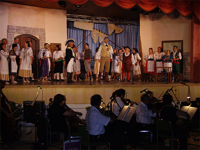 """La Zarzuela night hosted about 500 people in the auditorium of the municipal park """"Marcos Ortiz"""" - 1"""