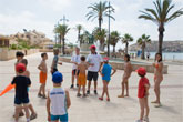 La playa infantil, escenario idóneo para los juegos de los más pequeños