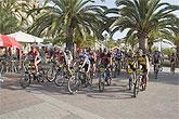 'Mountain bike' por las playas de Mazarrón