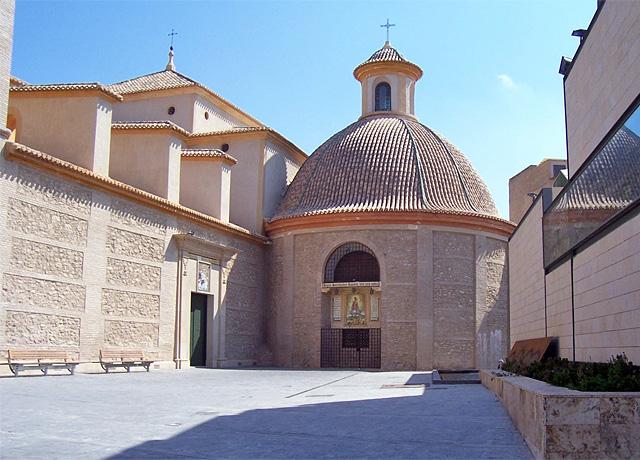 Finalizan las obras de remodelación de la calle de  La Feria y del entorno de la Iglesia de San Lázaro de Alhama de Murcia, Foto 1