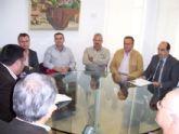 El alcalde se reúne con la Asociación de Empresarios de la Construcción del Bajo Guadalentín (AEMCO)