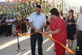 Autoridades locales inauguran la ampliación del recinto ferial de la ermita de La Huerta coincidiendo con los actos en honor a la Virgen