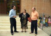 El alcalde y el edil de Educaci�n visitan los colegios en su primer d�a de clase