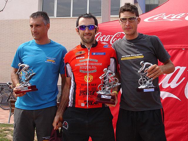 Pedro José Zamora, campeón en la V marcha MTB Sierra Espuña, Foto 1