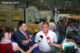 El alcalde y el concejal de ganadería acuden a la inauguración de la Semana Nacional de Ganado Porcino de Lorca