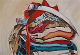 Pinturas y performance, de Marcos Faccio, en las Casas Consistoriales de Mazarrón