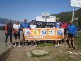 El 'Club ciclista Nueve y media' realiza la Travesía de los Pirineos