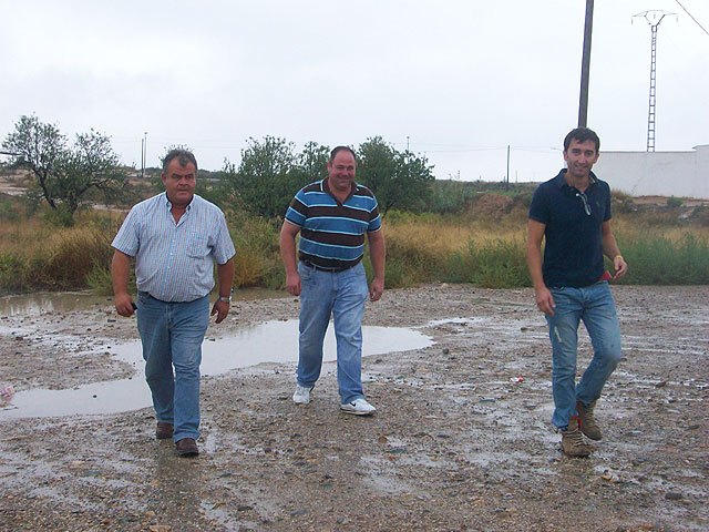 The council of Agriculture and Pedanías visit the rural municipality affected by the rainstorm, Foto 1