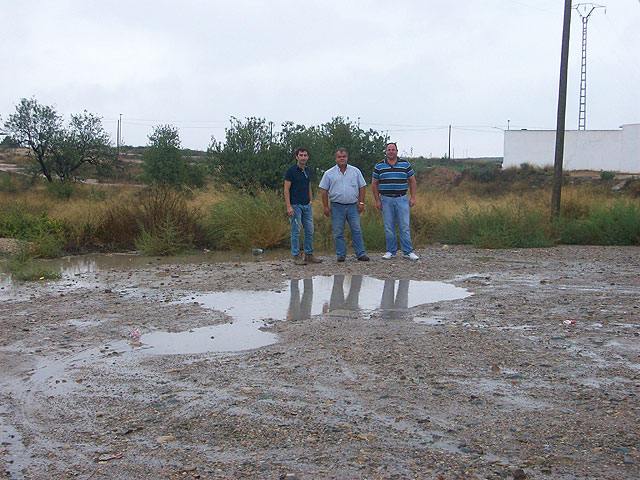 The council of Agriculture and Pedanías visit the rural municipality affected by the rainstorm, Foto 2