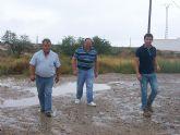 El concejal de Agricultura y Pedanías visita las zonas rurales del municipio más afectadas por el temporal de lluvia