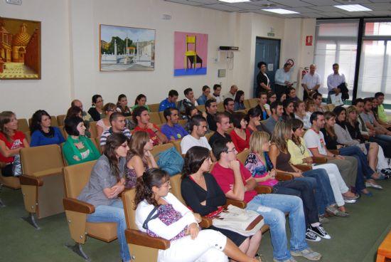 El director de la Universidad del Mar junto con el alcalde de la localidad han clausurado el curso sobre aguas termales., Foto 4