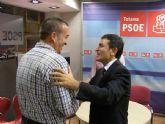 Pedro Saura anuncia que el PSOE regional presentará una batería de medidas en la Asamblea para erradicar la corrupción en Totana
