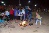 Miles de vecinos se dieron cita en el concurso de migas de la Feria 2008