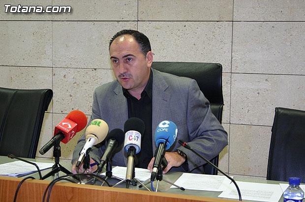 El portavoz del equipo de Gobierno municipal da cuenta de los acuerdos adoptados en Junta de Gobierno, Foto 1