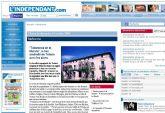 El diario francés L'Indépendant publica una entrevista realizada al alcalde de Totana