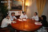 El delegado del Gobierno mantuvo una reunión con el grupo municipal socialista de Totana