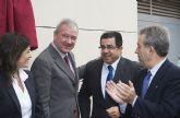 El alcalde asiste a la inauguraci�n de una oficina comarcal agraria para Mazarr�n