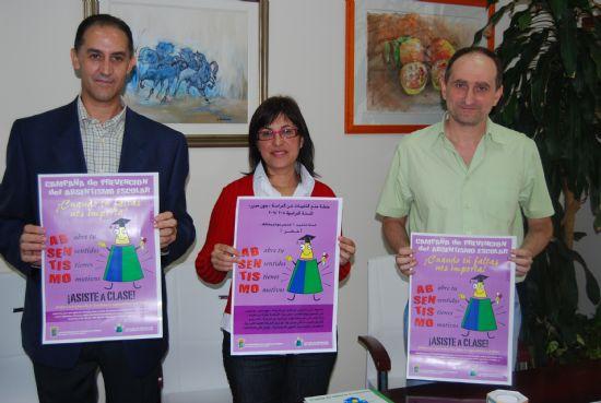 El Ayuntamiento inicia la campaña de prevención de absentismo escolar, Foto 1